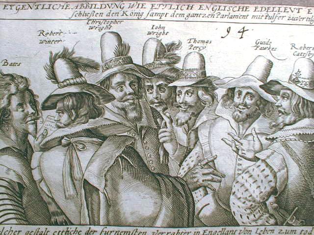 Guy Fawkes, 1606, by Crispijn van de Passe der Ältere (1564-1637). Photo: Wikimedia Commons