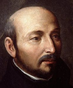 Saint Ignatius Loyola, founder of the Jesuits and a leader of the Counter-Reformation. Ignatius Loyola.jpg
