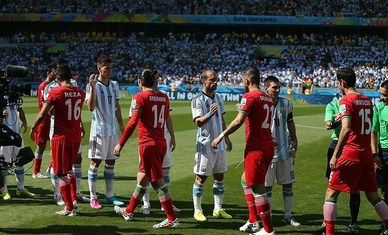 Iran vs. Argentina match, 2014 FIFA World Cup 15