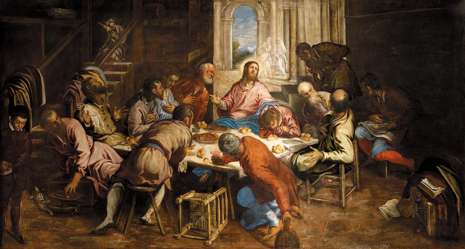 the last supper tintoretto essay