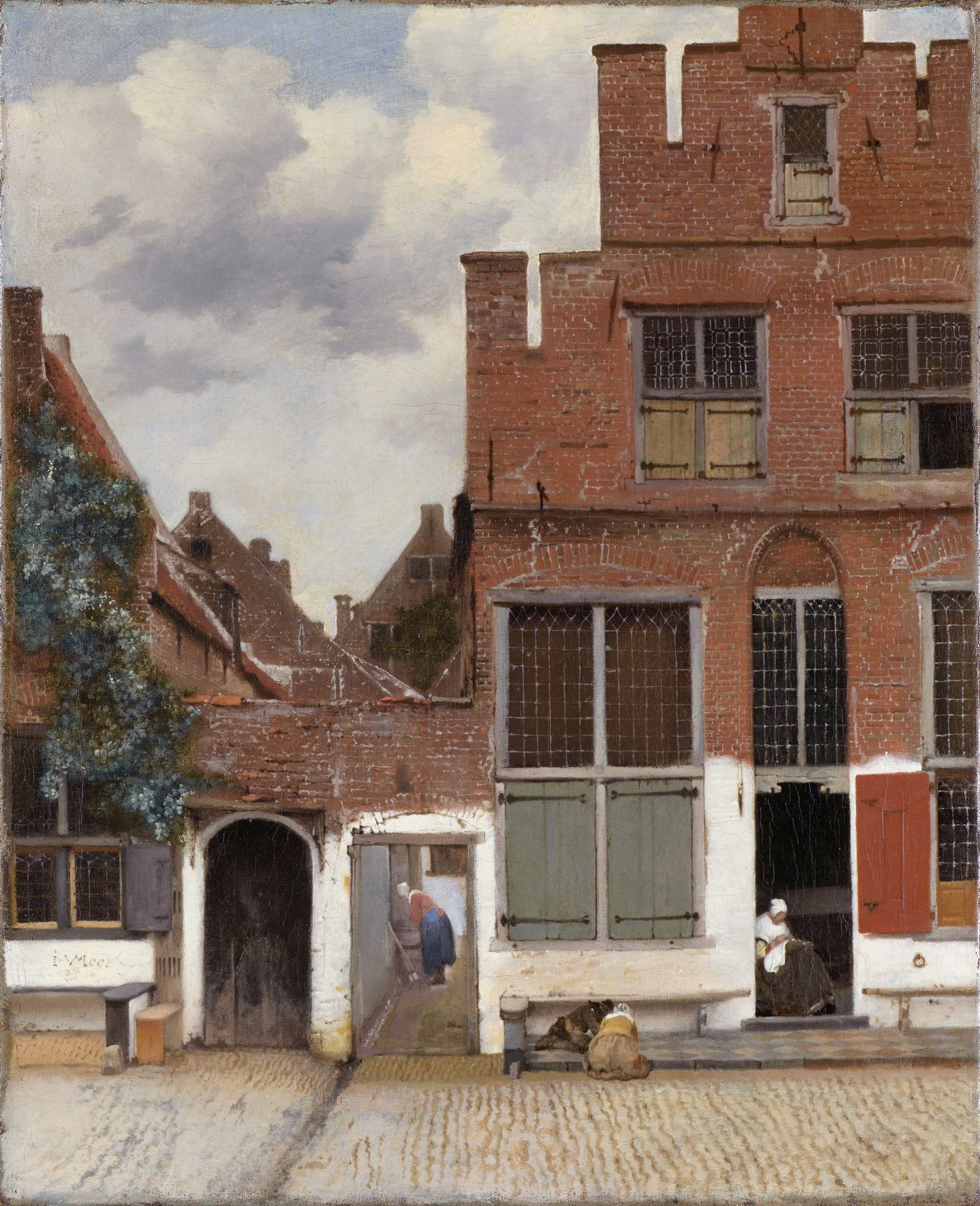 Johannes Vermeer: The Little Street