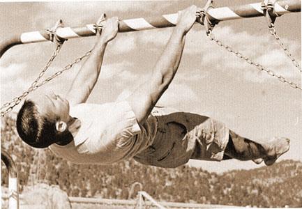 Интензивна тренировка с акцент върху гърба