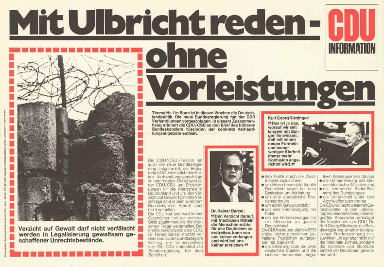 Walter Ulbricht Steckbrief
