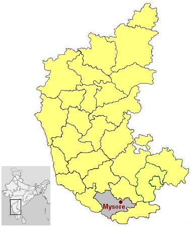 Mysore Map