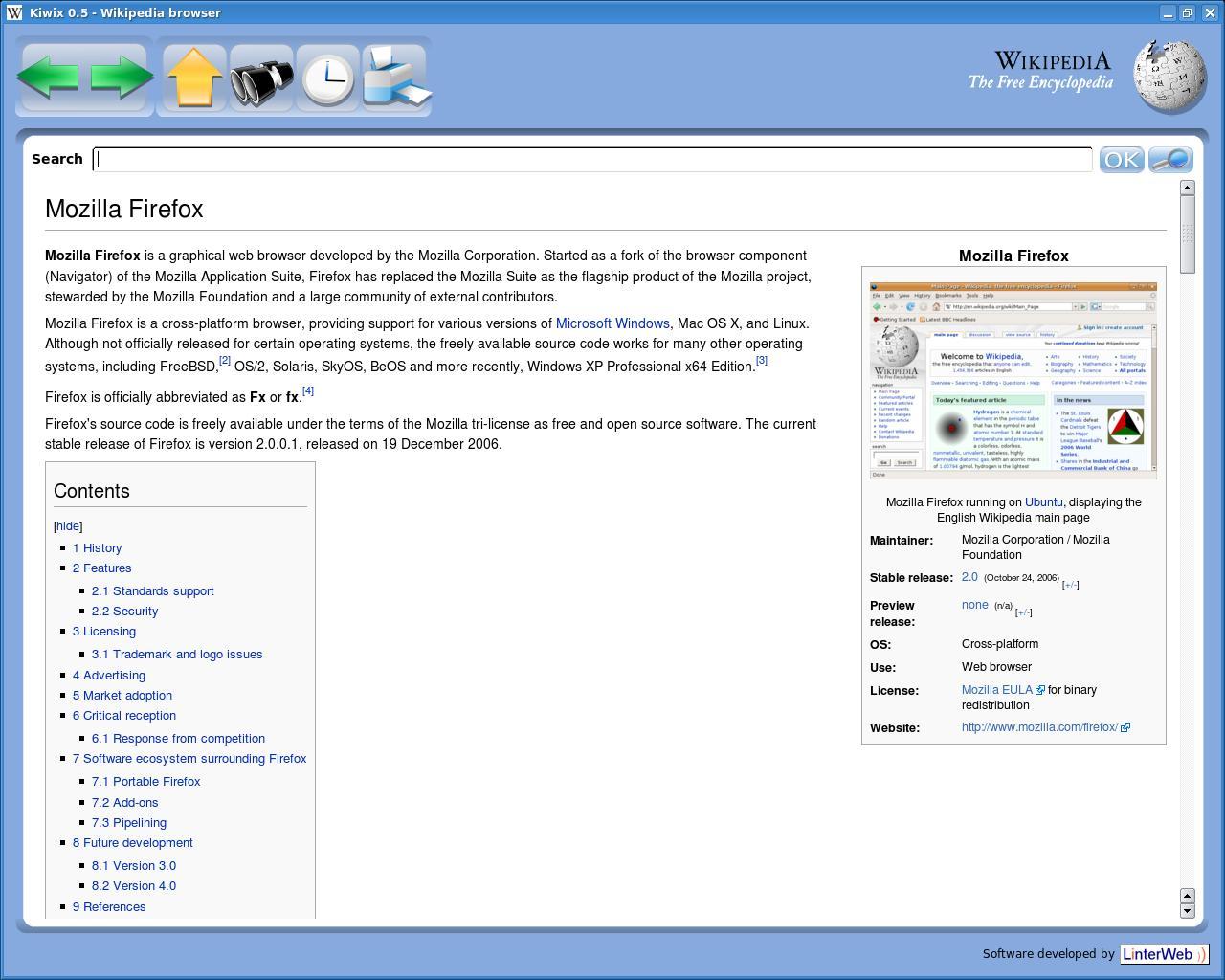 kiwix wikipedia
