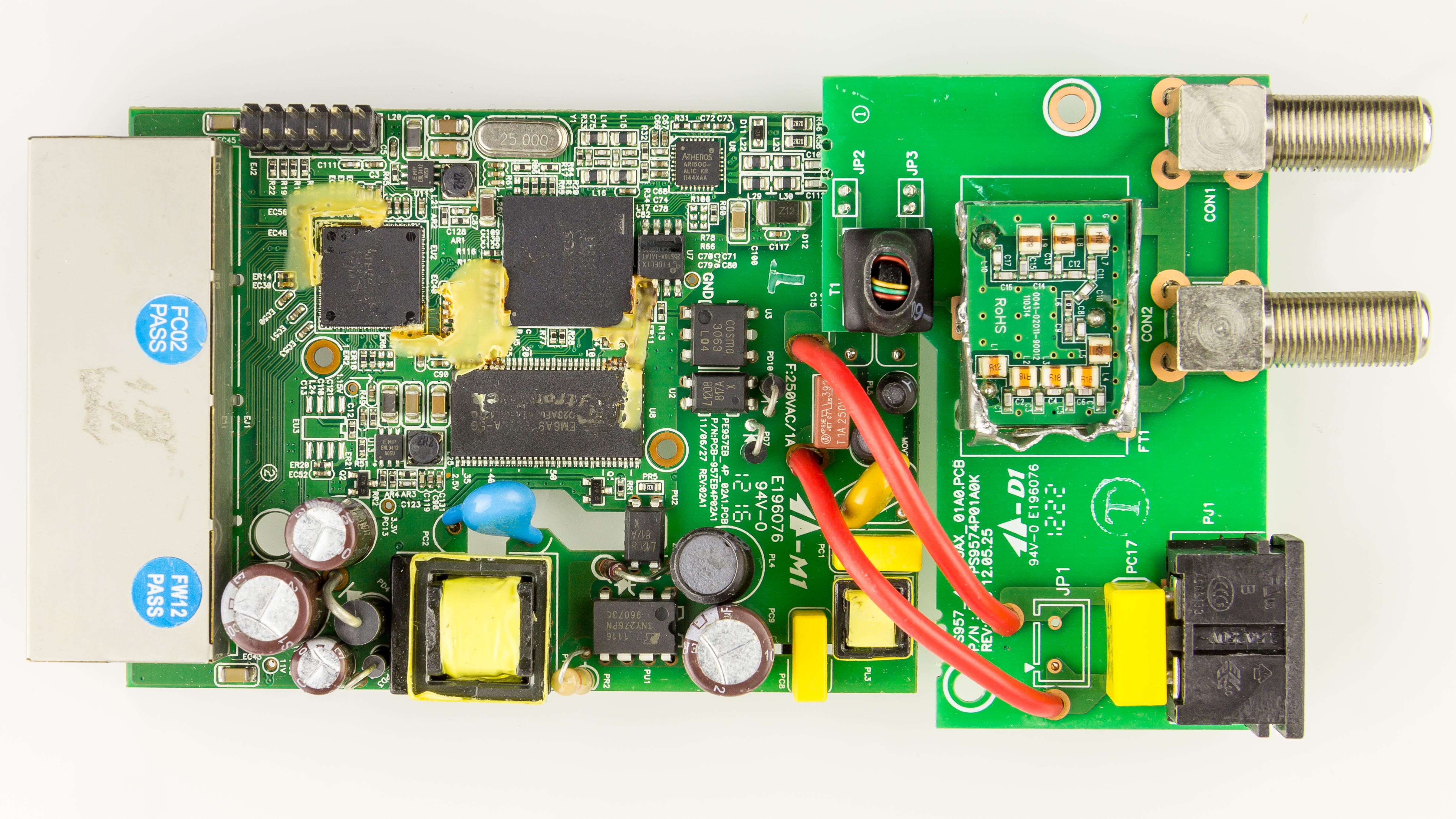 Filekraftcom Coaxline Adapter Cn Ke502m Printed Circuit Board Pcb 13 Royalty Free Stock Photos Image 8823