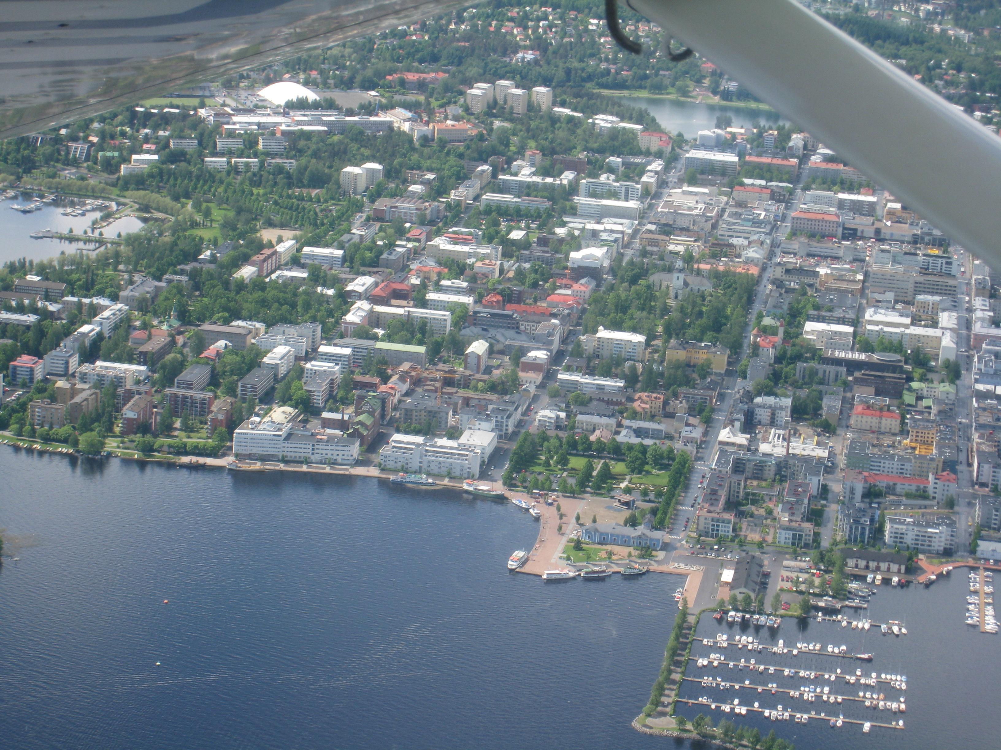 File:Kuopio harbor.jpg - Wikimedia Commons