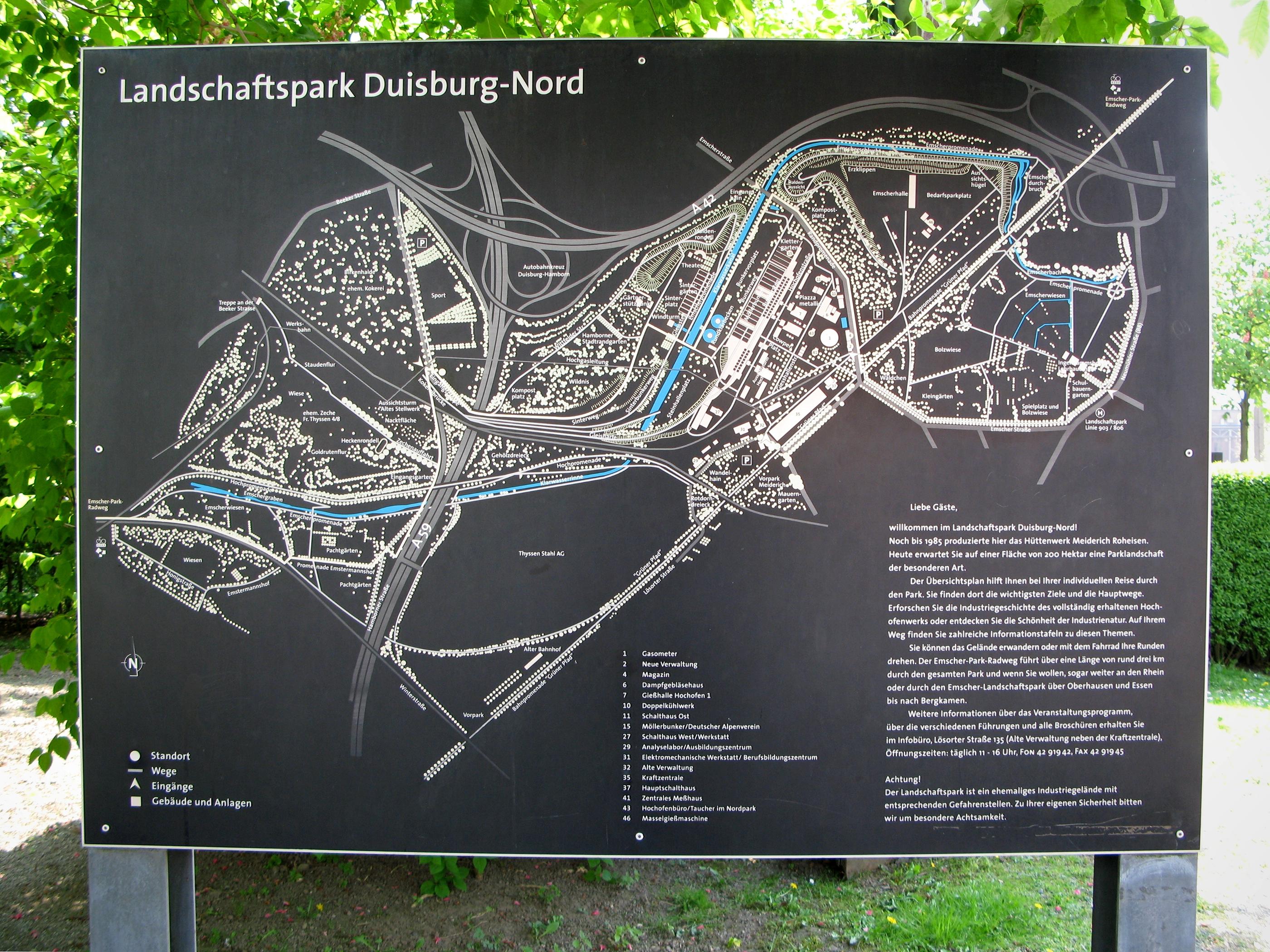 FileLandschaftspark DuisburgNord Lageplanjpg Wikimedia Commons