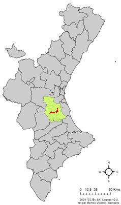 Fitxer:Localització de Guadassuar respecte del País Valencià.png