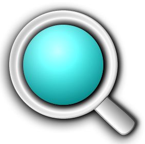 Magnifying glass icons, PD-self, Self-published work