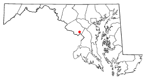 Location of Wheaton-Glenmont, Maryland