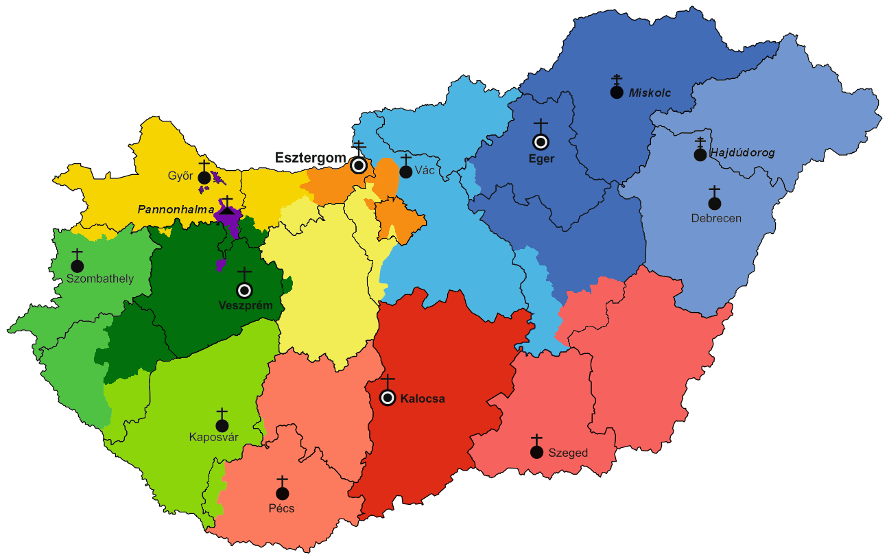 FileMap of Hungarian Catholic DiocesesPNG Wikimedia Commons
