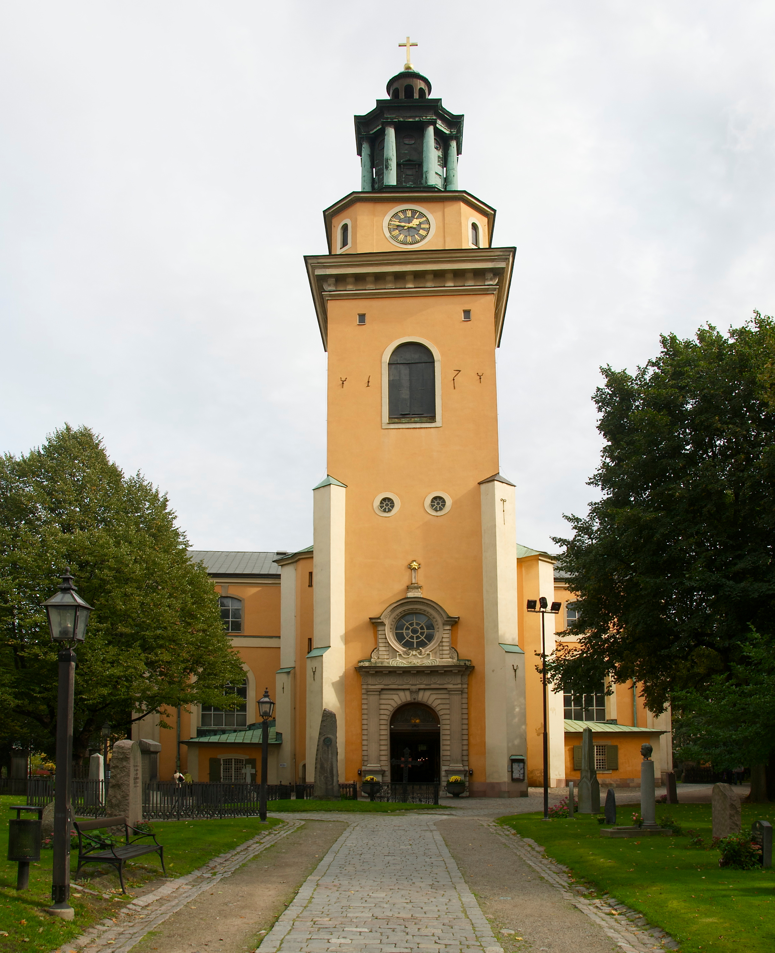 September 2011: File:Maria Magdalena Kyrka September 2011.jpg