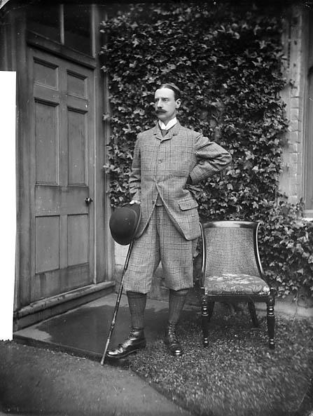 Фотография маркиза в 1885.