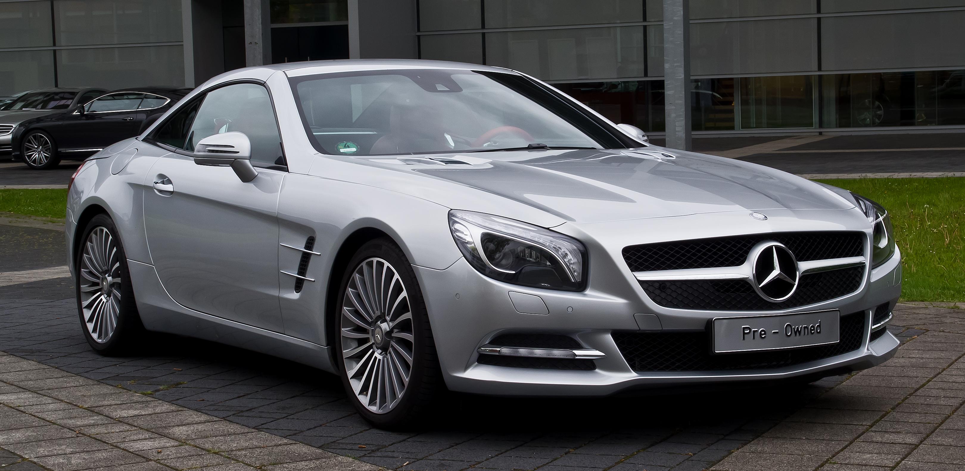 File Mercedes Benz Sl 350 R 231 Frontansicht