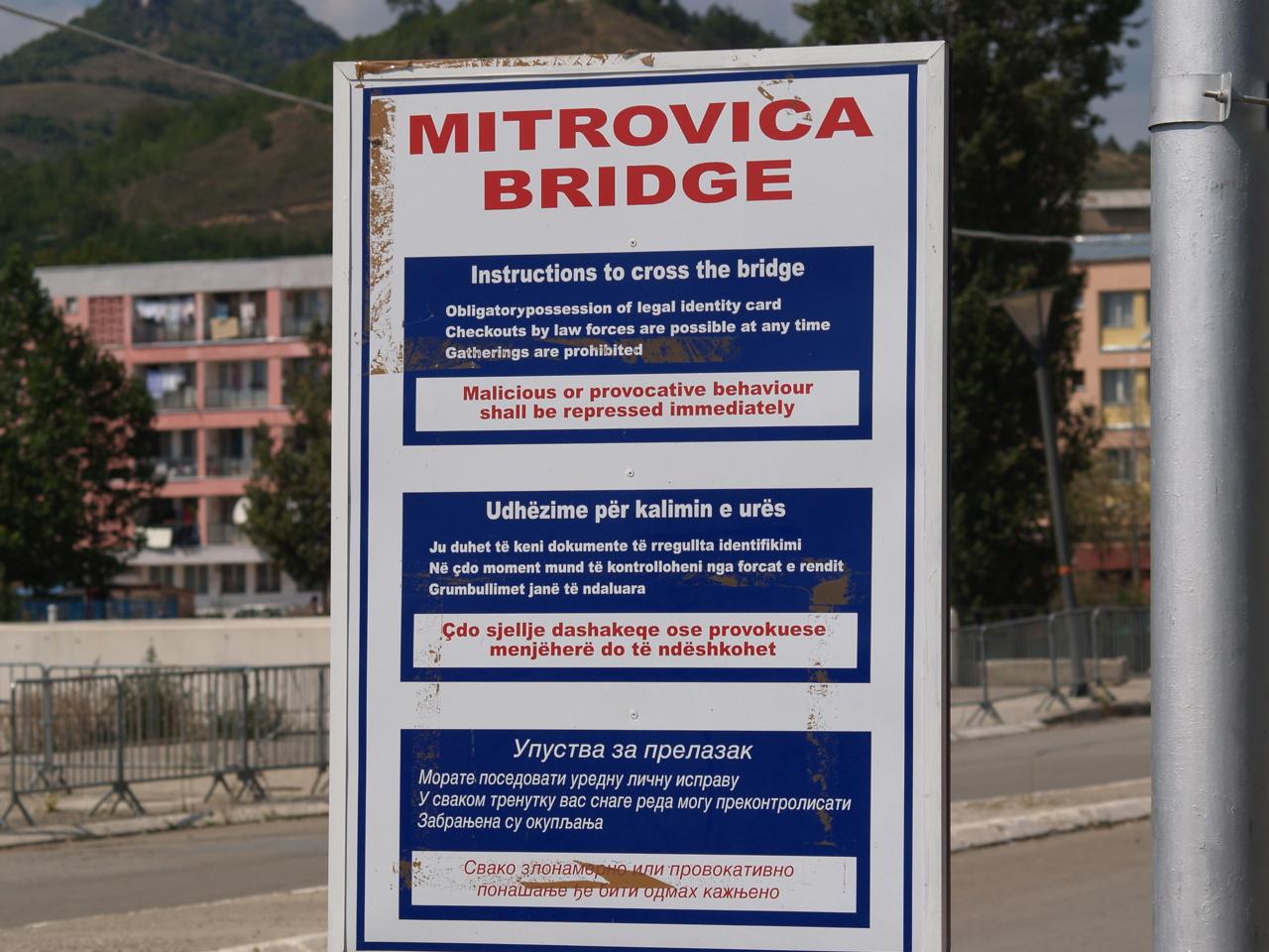 Αποτέλεσμα εικόνας για kosovska mitrovica bridge