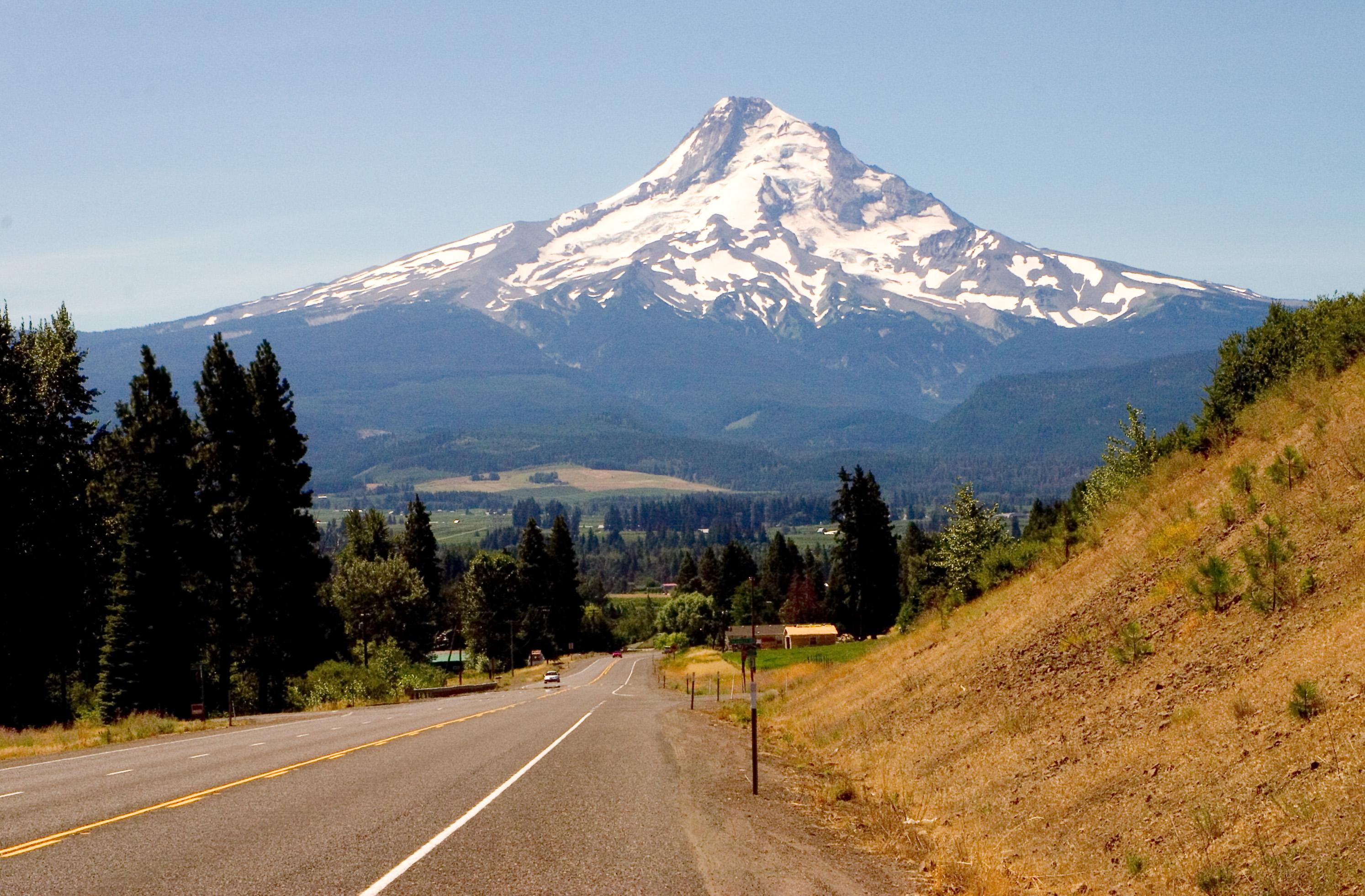 Scenic Highways File Mount Hood Highway Oregon Jpg Wikimedia Commons