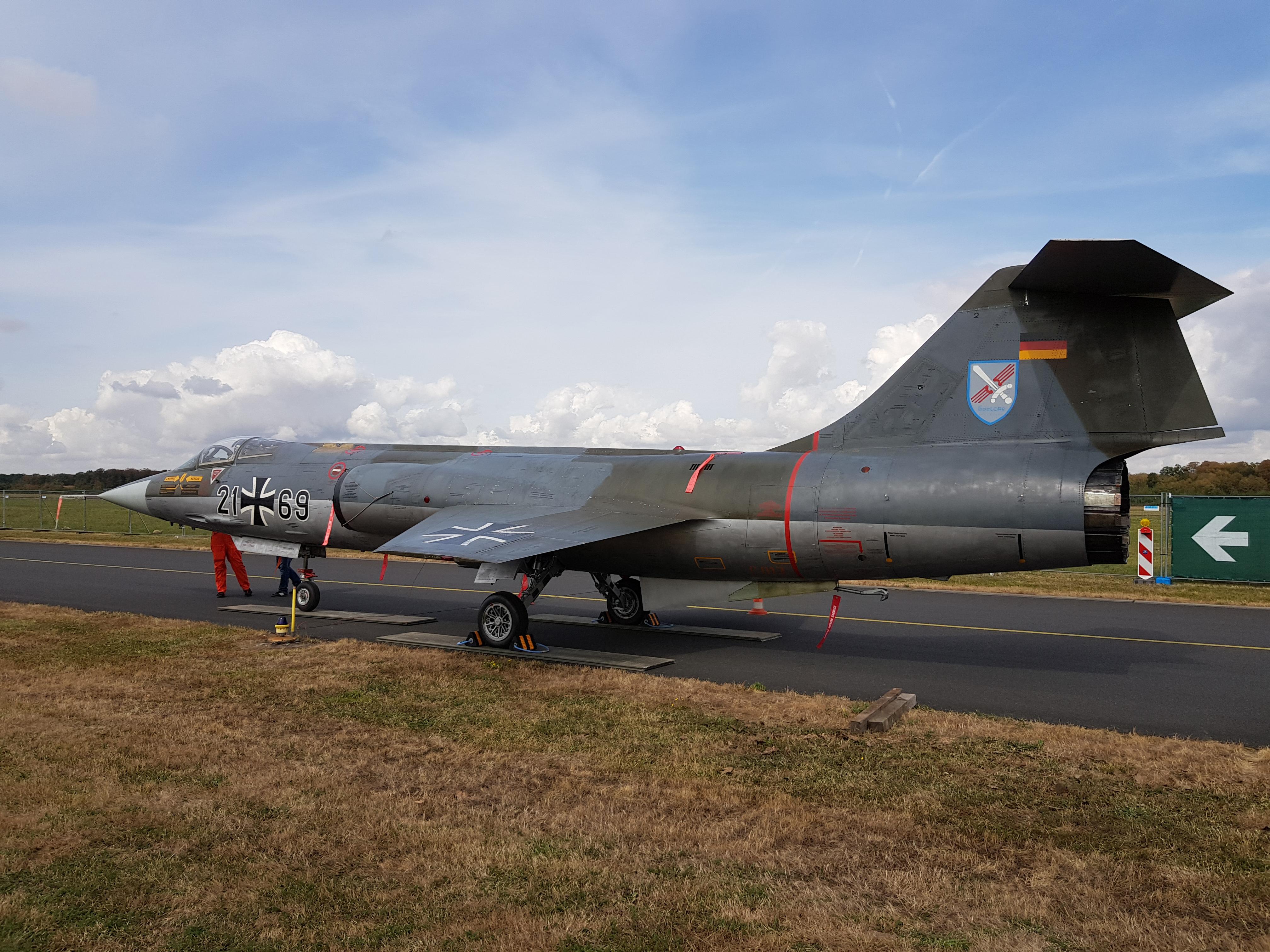 N%C3%B6rvenich_Air_Base_Lockheed_F-104G_