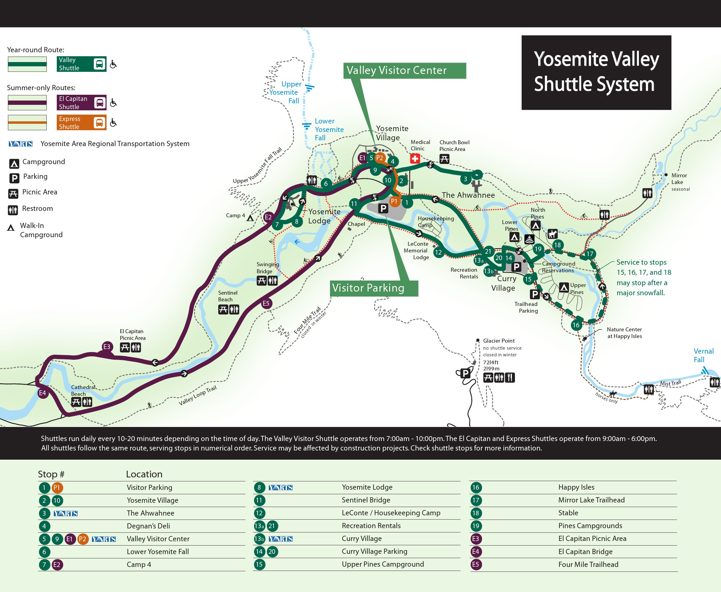 File Nps Yosemite Valley Shuttle Bus Map Jpg