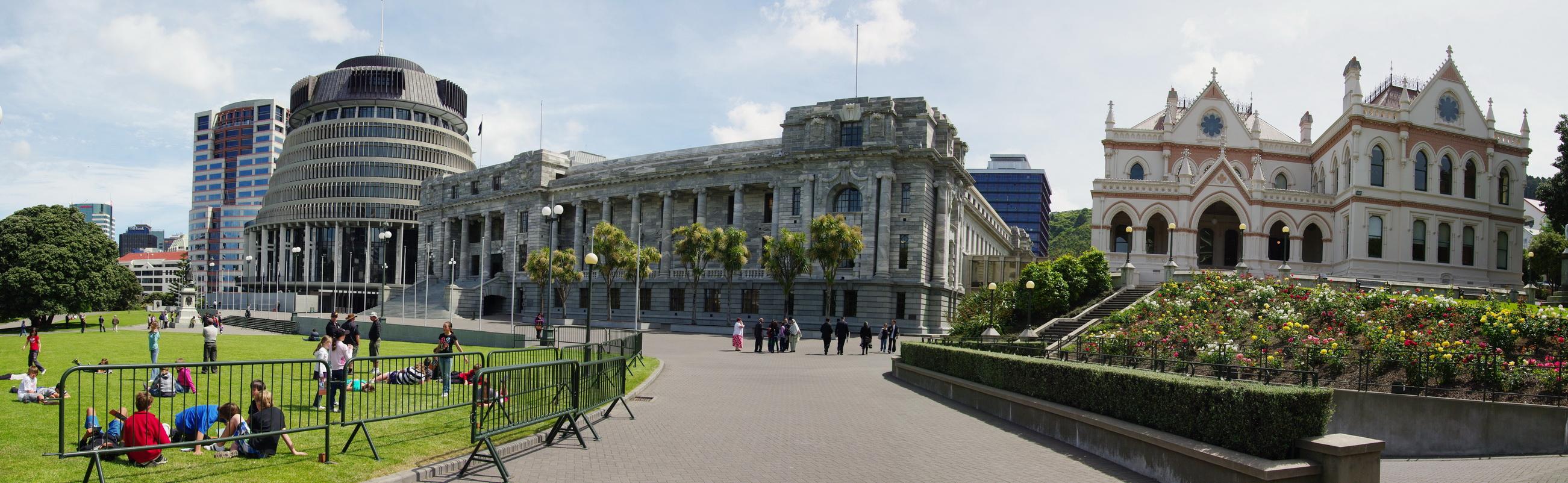 紐西蘭 | 威靈頓 Wellington | New Zealand Parliament Buildings