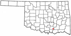 Milburn, Oklahoma Town in Oklahoma, United States