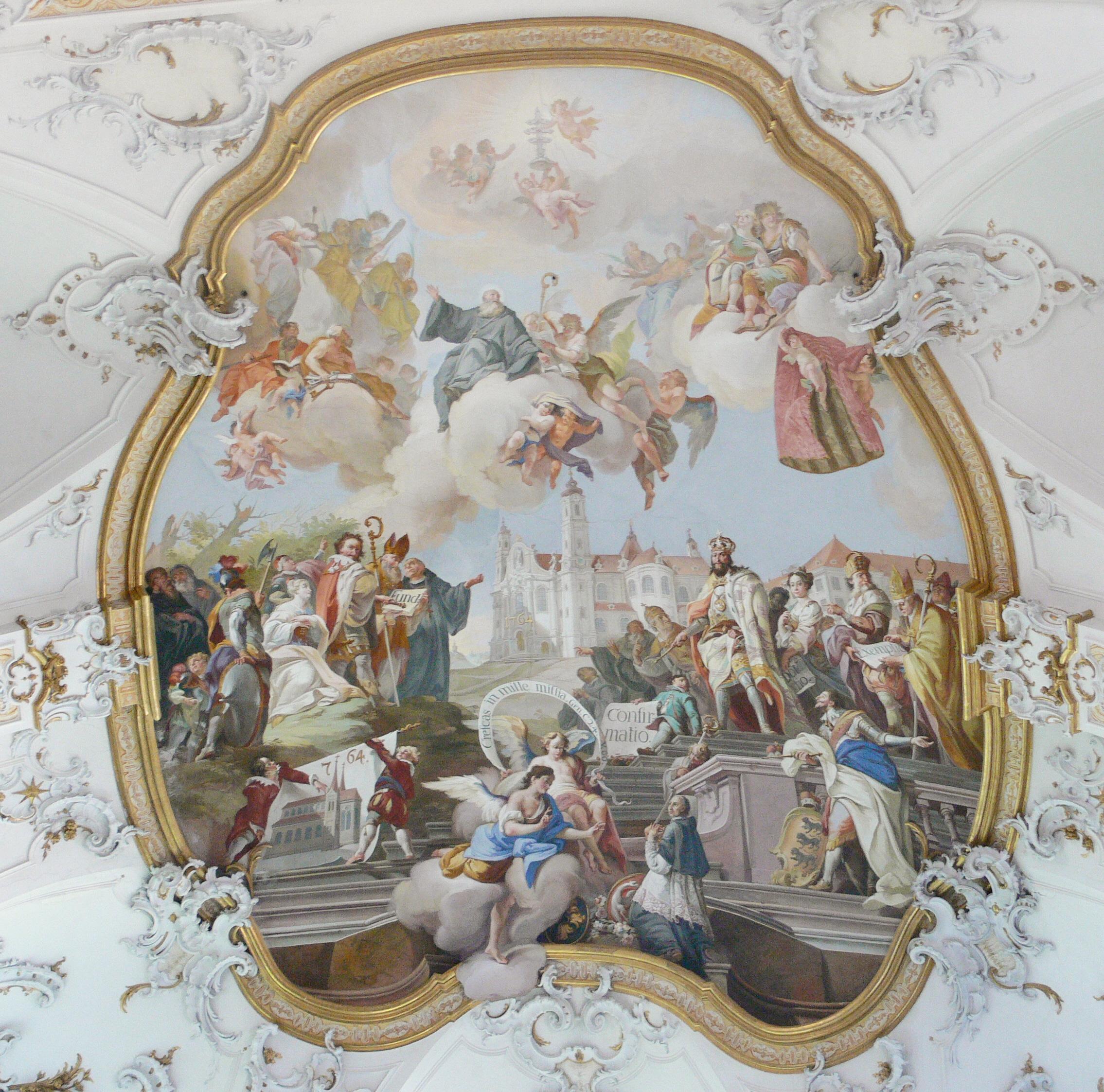 Рококо и барокко в картинках