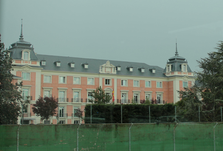 File palacio de la moncloa madrid wikimedia commons for Ministerio de interior madrid