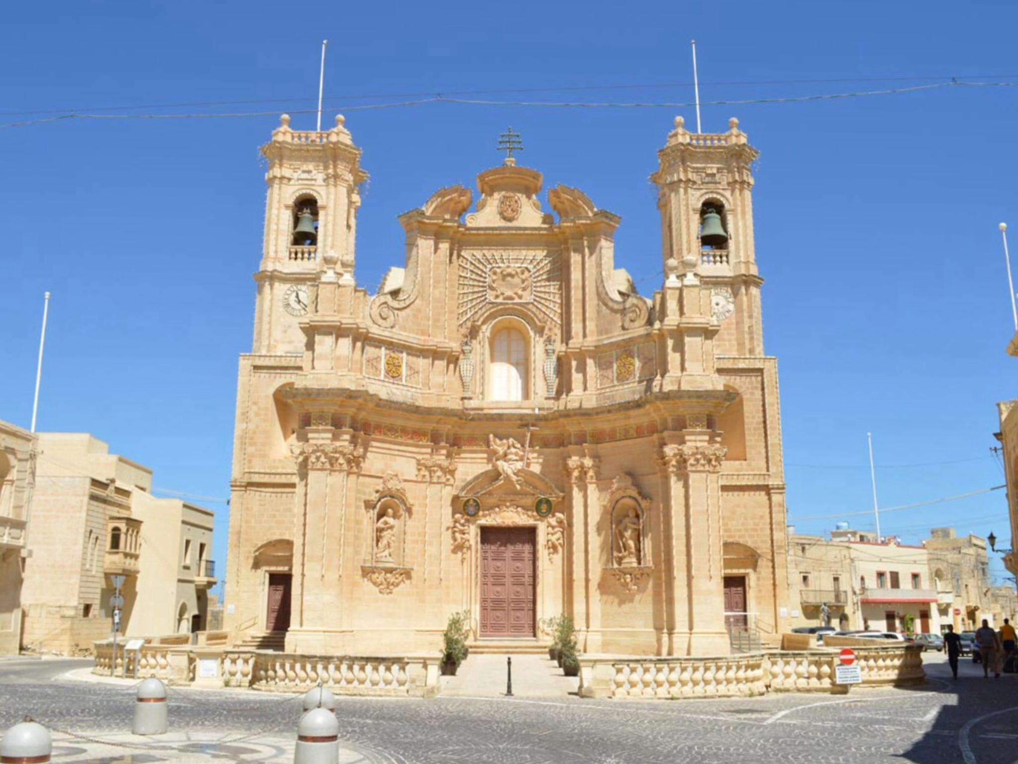 Basilica of the Visitation, Għarb - Wikipedia