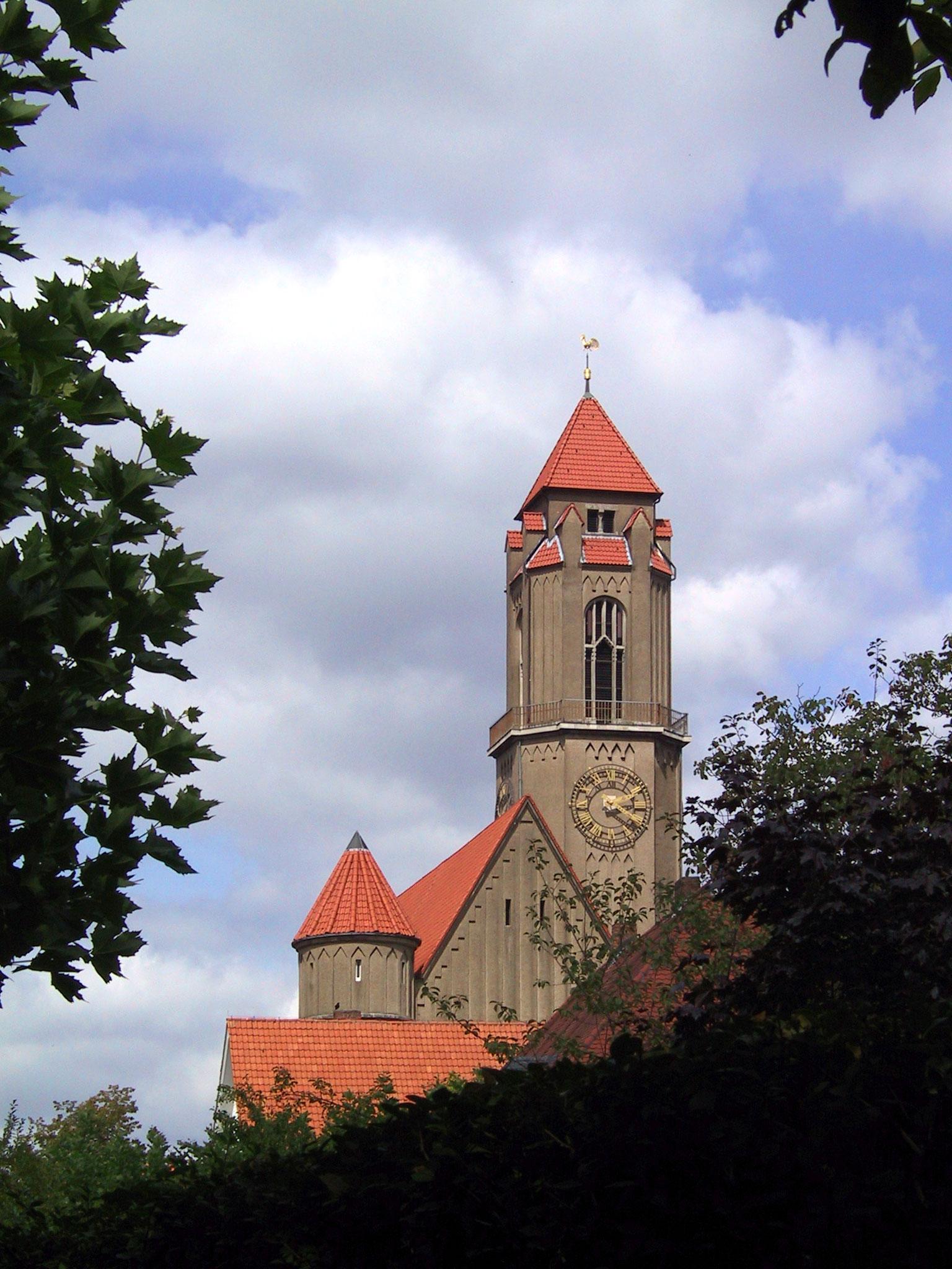 file pauluskirche in darmstadt bessungen germany