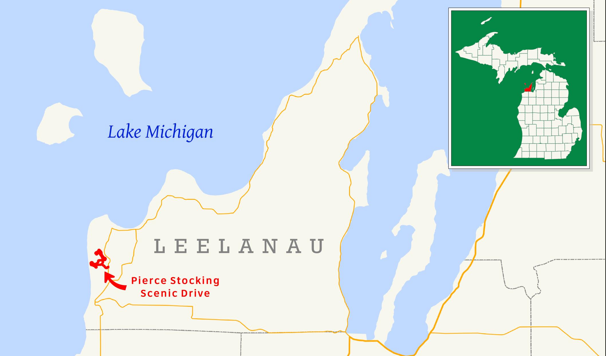 Pierce Stocking Scenic Drive - Wikipedia