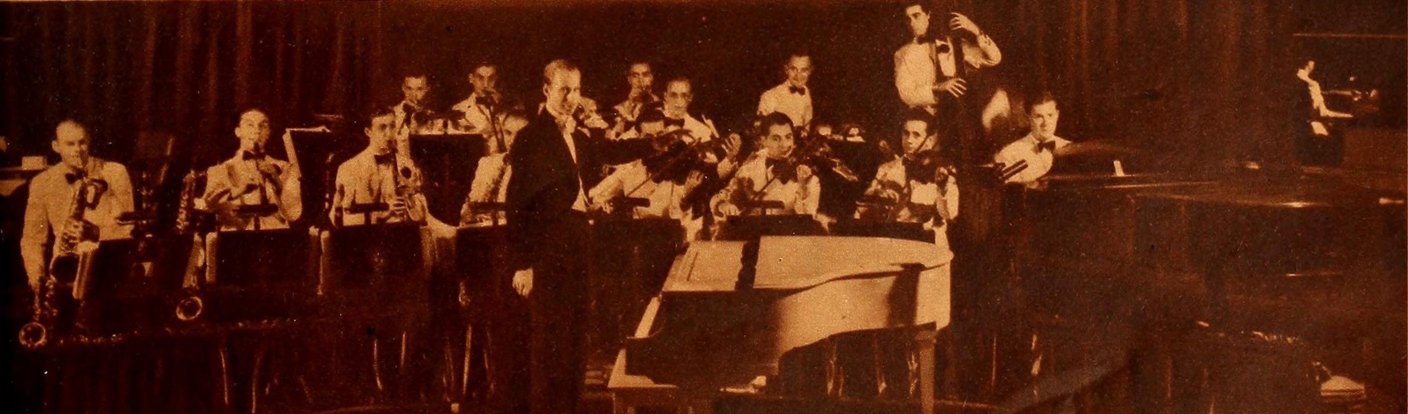 Ray Noble and his orchestra in 1935