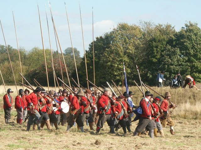Re-enactment - The Siege of Bolingbroke Castle - geograph.org.uk - 1777504
