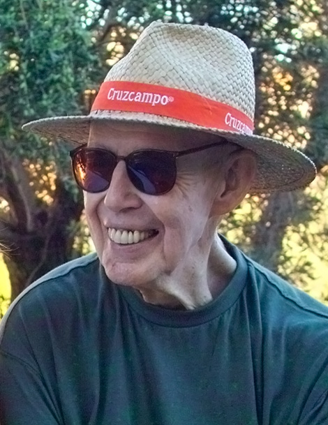Asprey at his home in Spain in 2003