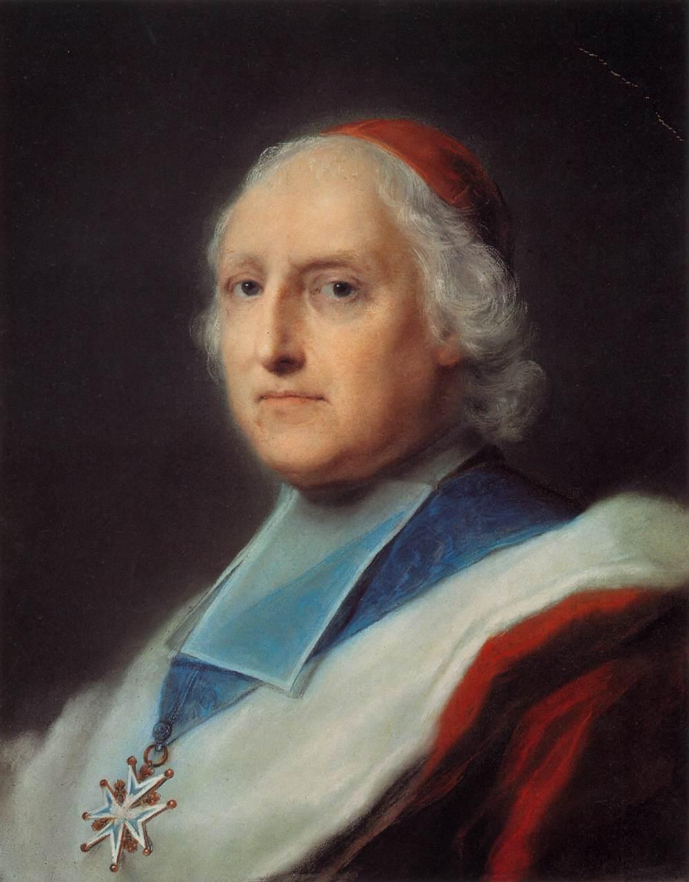 Ritratto del Cardinale Melchior de Polignac