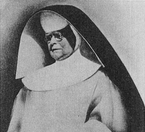 Mother Mary Alphonsa in her habit