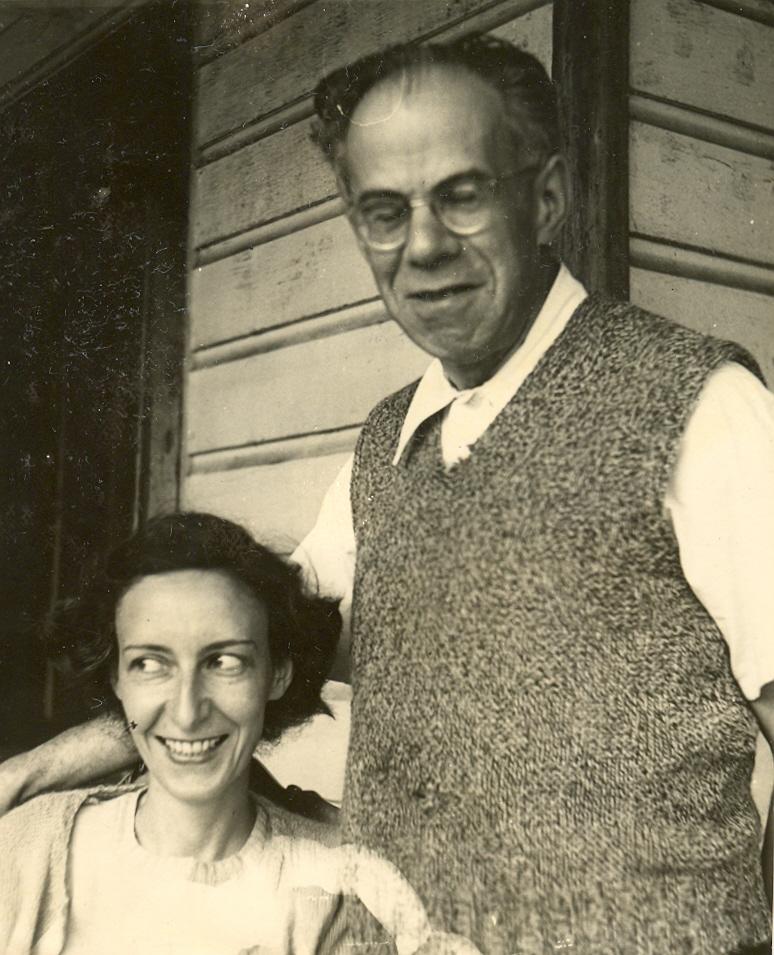 Eva and Rudolf Kayser