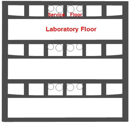 File Salk Institute Outline Of Laboratory Floor And Vierendeel Truss Jpg Wikimedia Commons