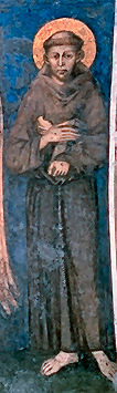 Saint Francis of Assisi, Detail from Cimabue's...