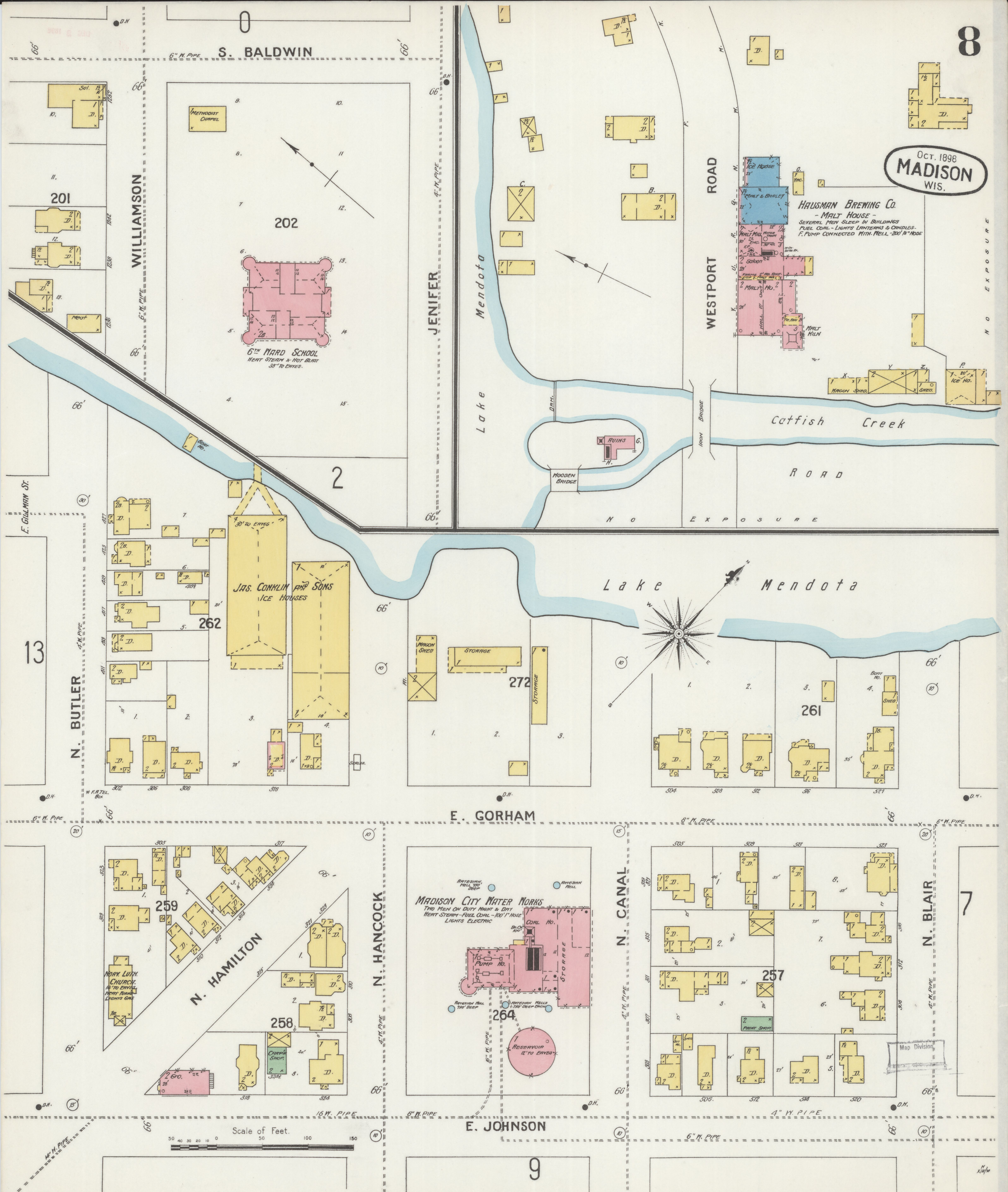 File:Sanborn Fire Insurance Map from Madison, Dane County, Wisconsin on