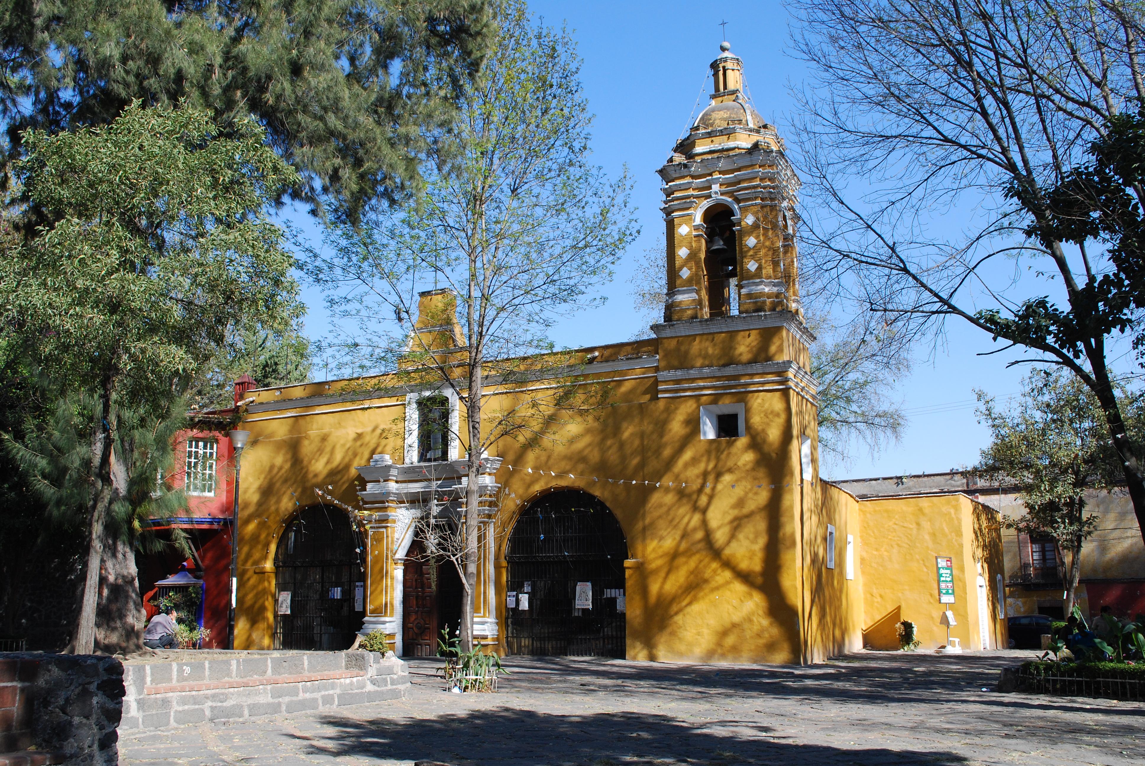 Resultado de imagen para iglesia de santa catarina coyoacan
