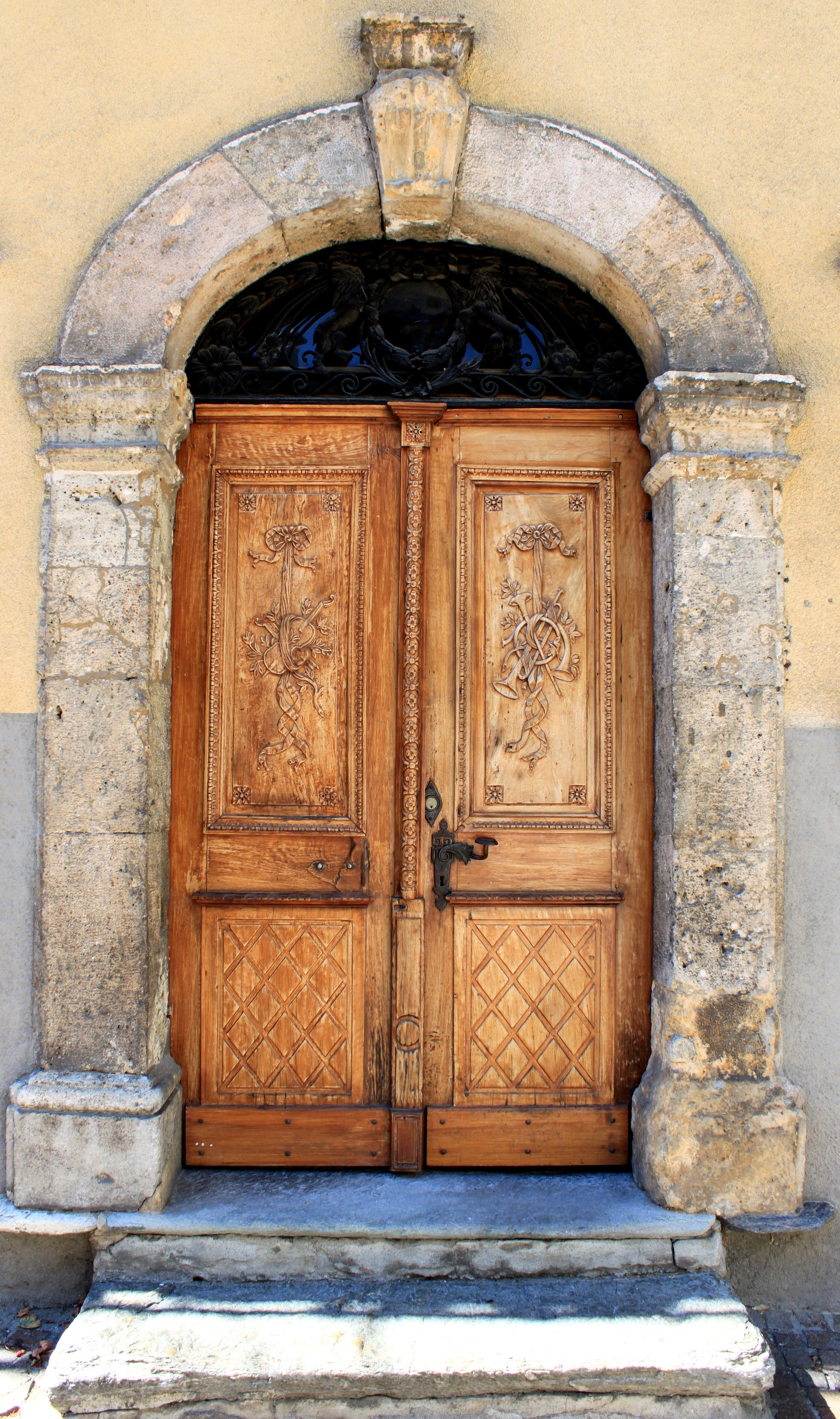 File sion cath drale notre dame du glarier porte en bois sculpt jpg wiki - Rosace en bois sculpte ...