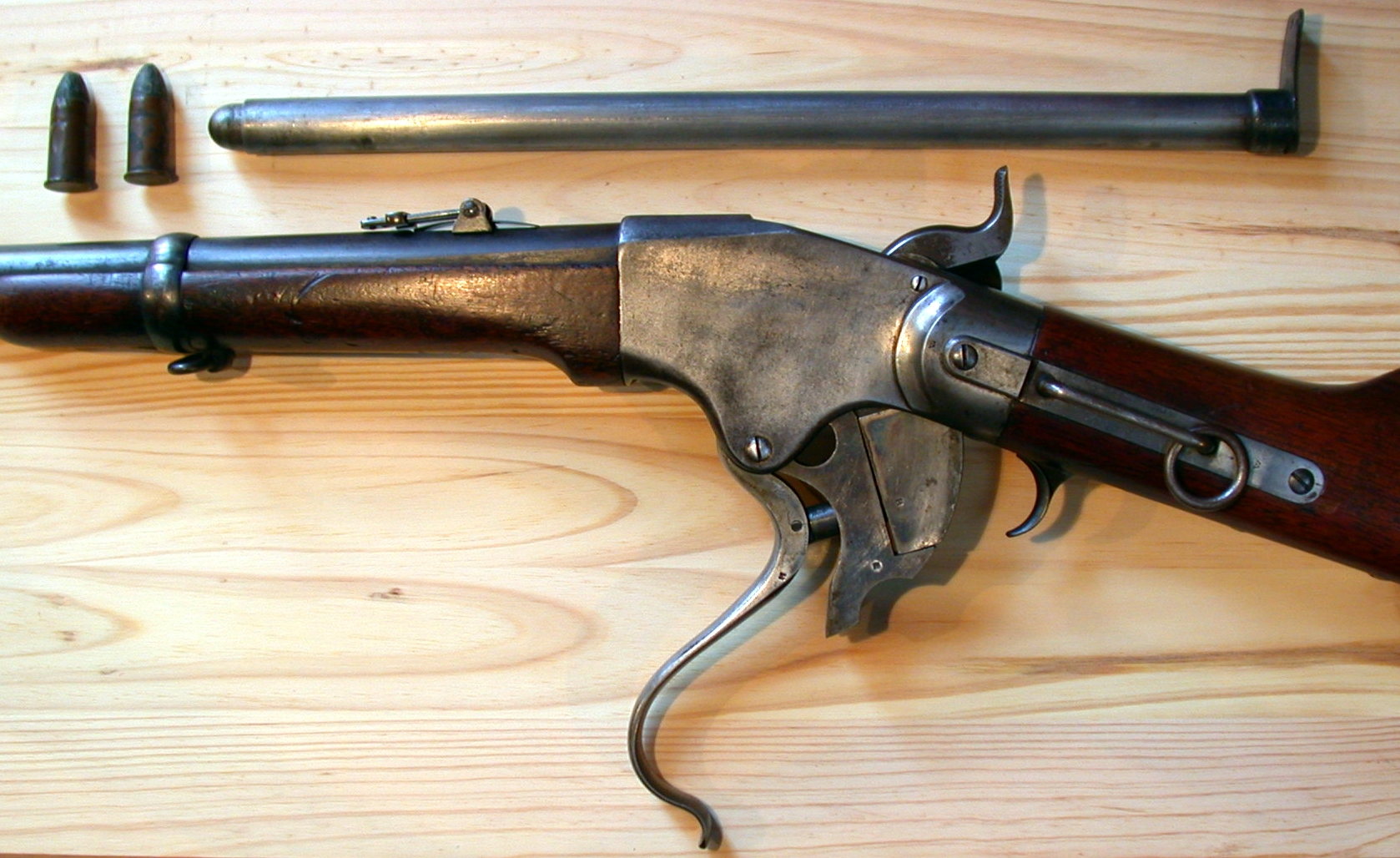 File:Spencer Carbine Mod 1865 JPG - Wikimedia Commons