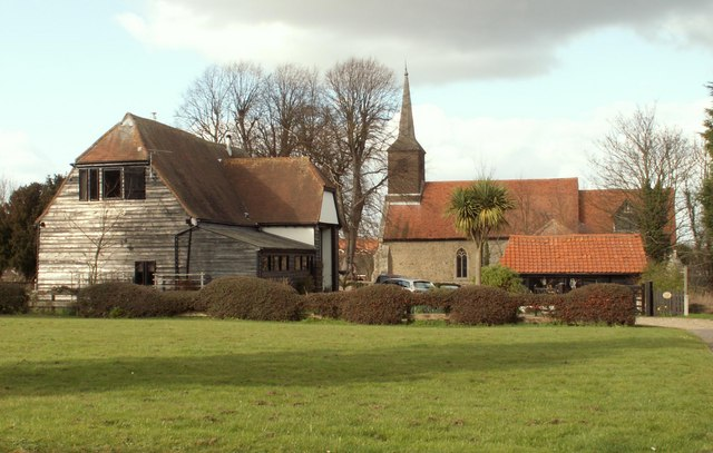 Bestand:St. Michael and All Angels, the parish church of Roxwell - geograph.org.uk - 715233.jpg