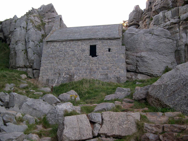 St Govan's Chapel - geograph.org.uk - 1385045