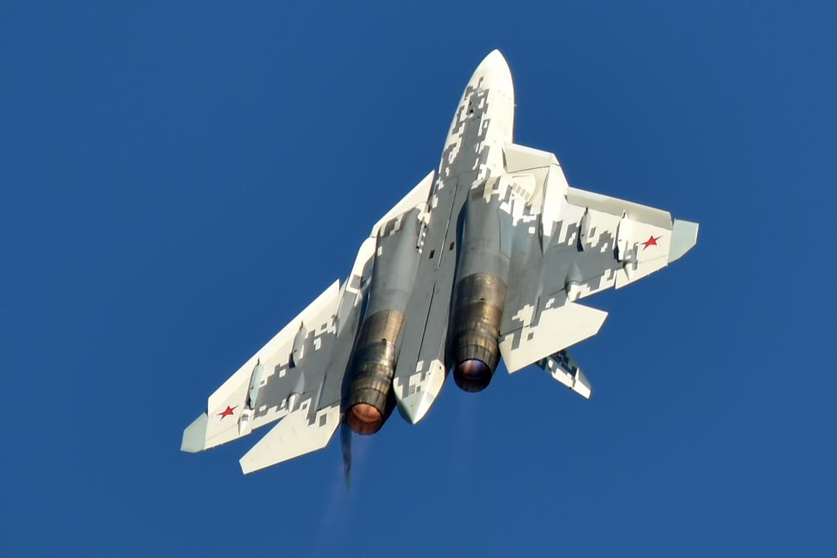 File:Sukhoi Design Bureau, 054, Sukhoi Su-57 (49581306132).jpg - Wikimedia Commons