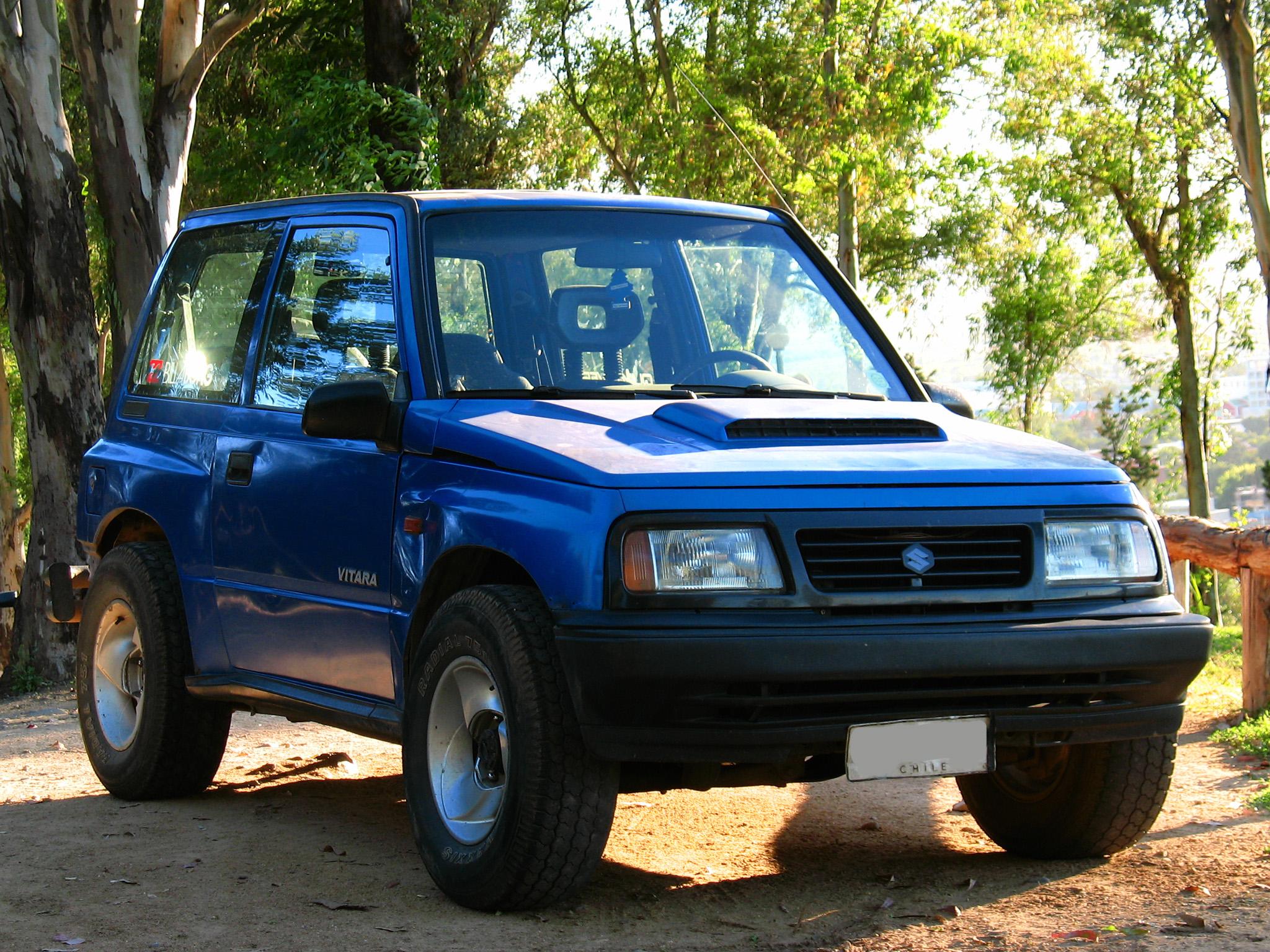 History Of Suzuki Vitara