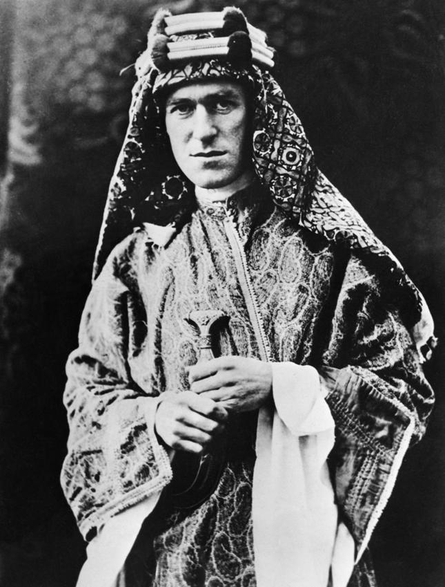 Business: T.E. LAWRENCE OF ARABIA