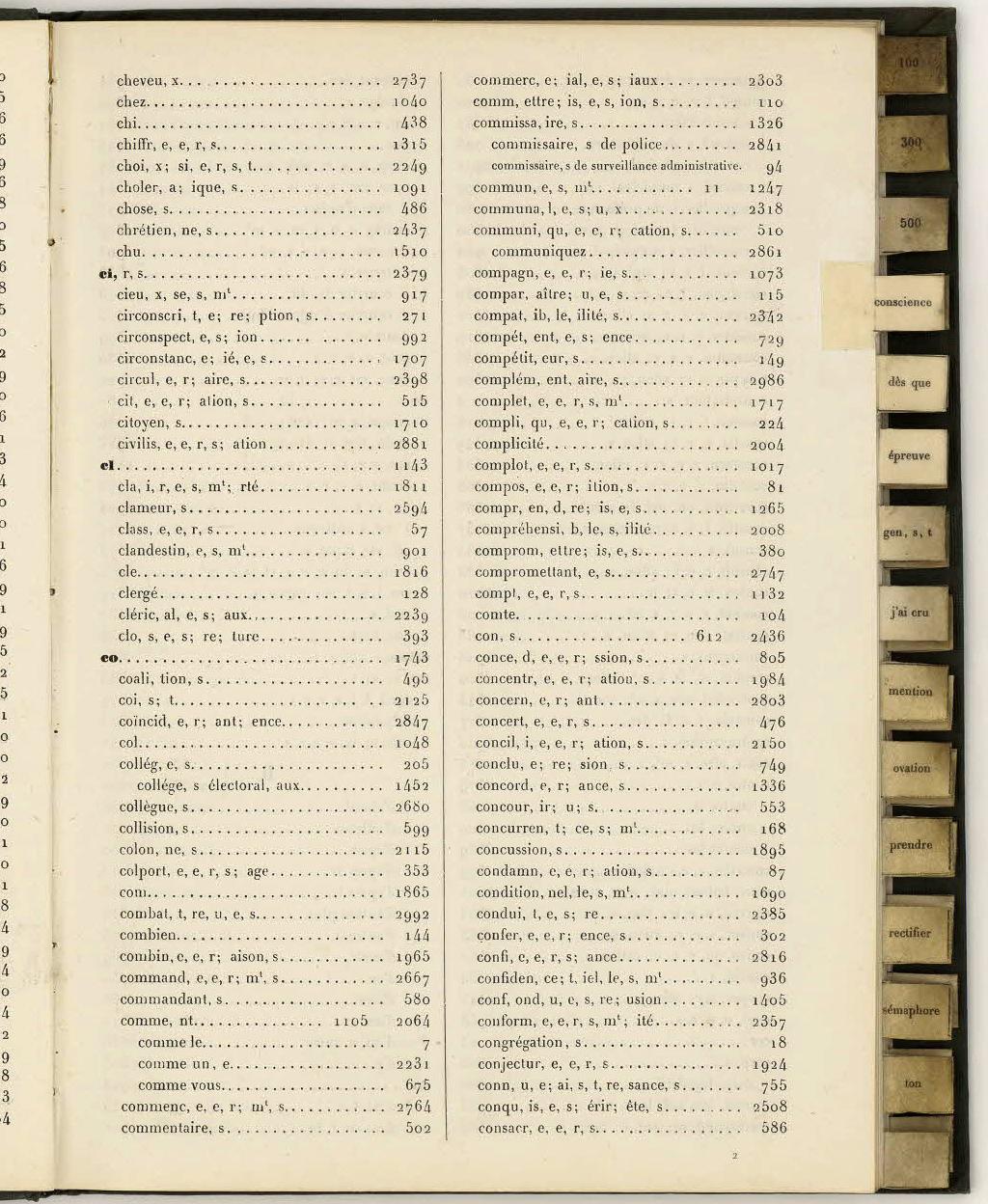 File Table De Chiffrement De La Guerre Franco Prussienne De 1870