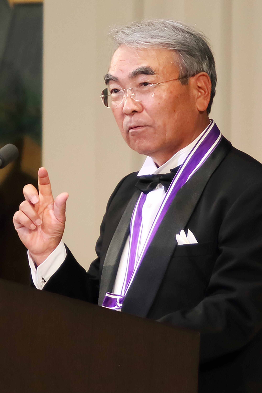 Dr Takeo Kanade at the 2016 Kyoto Prize Presentation Ceremony