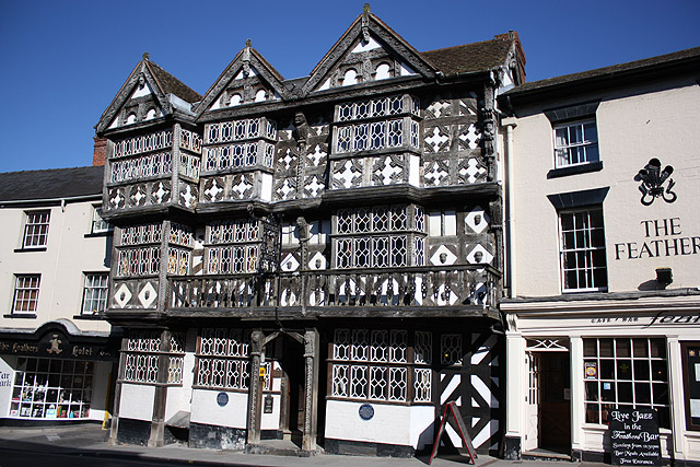 The Feathers Hotel, Ludlow - geograph.org.uk - 1746042